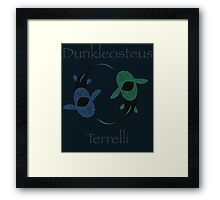 Devonian yin and yang Framed Print