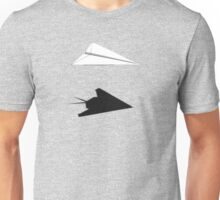 A flight of imagination (F-117 Nighthawk) Unisex T-Shirt