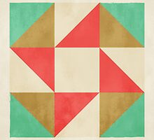 Quilt Block #01 by fieldandsky