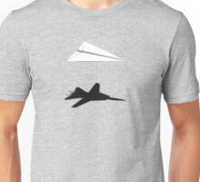 A flight of imagination (F-14 Tomcat) Unisex T-Shirt