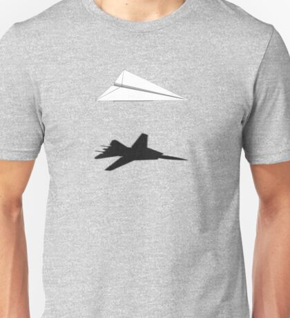 A flight of imagination (F-14 Tomcat) Unisex T-Shirt