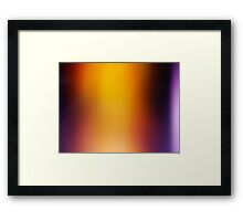 The Glowing Framed Print