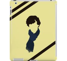 striped sherlock iPad Case/Skin
