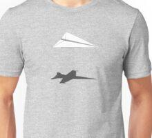 A flight of imagination (F/A-18 Hornet) Unisex T-Shirt