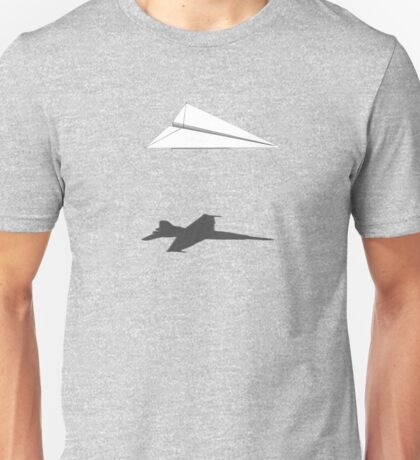 A flight of imagination (F/A-18 Hornet) Unisex T-Shirt