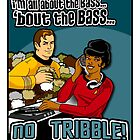 All about the BASS, no Tribbles. by Anna Welker