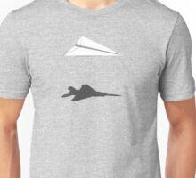 A flight of imagination (F-15 Eagle) Unisex T-Shirt