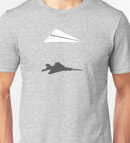 A flight of imagination (F-15 Eagle) Unisex T-Shirt