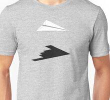 A flight of imagination (B-2 Spirit) Unisex T-Shirt