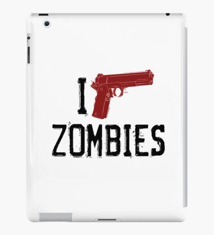 i-shoot-zombies iPad Case/Skin