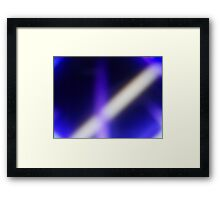 From the Once  Upon a Time Collection - flash in the dark Framed Print