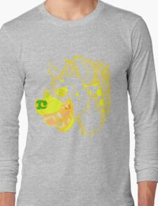 Banana Hyena Long Sleeve T-Shirt