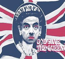 GOD SAVE THE QUEEN by fabiangiles