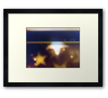 Once Upon a Time Collection - star dream Framed Print