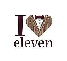 I Heart Eleven Photographic Print