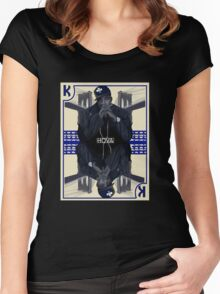 Hip Hop King -- Jay Z Women's Fitted Scoop T-Shirt