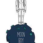 Moon boy by Xinnie