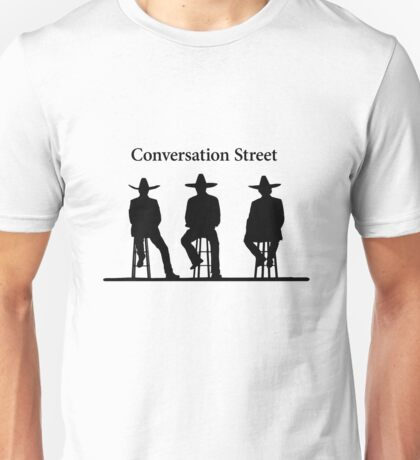 Conversation Street (Mexican Hats) - The Grand Tour Unisex T-Shirt