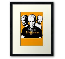 SPIKE: Halloween V1 Framed Print