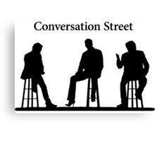 Conversation Street (High Heels) - The Grand Tour Canvas Print