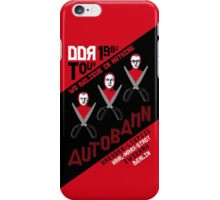 Autobahn 1982 East German Tour T-Shirt iPhone Case/Skin