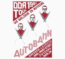 Autobahn 1982 East German Tour T-Shirt Kids Clothes