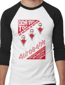 Autobahn 1982 East German Tour T-Shirt Men's Baseball ¾ T-Shirt