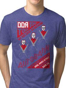 Autobahn 1982 East German Tour T-Shirt Tri-blend T-Shirt
