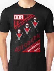 Autobahn 1982 East German Tour T-Shirt T-Shirt
