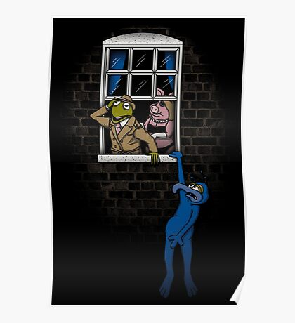 Banksy Muppets Poster