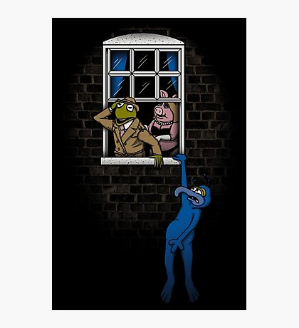 Banksy Muppets Photographic Print