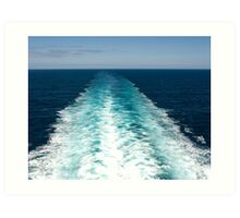 Heading out to Sea Art Print