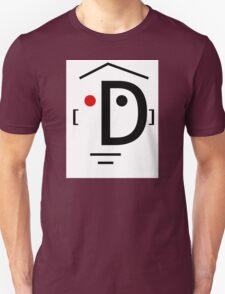 Letter Face_D Unisex T-Shirt