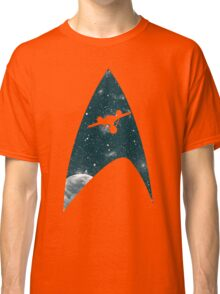 Space the final frontier Classic T-Shirt