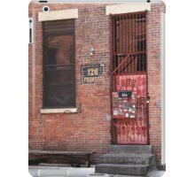 Brooklyn, New York, 126 Front Street iPad Case/Skin