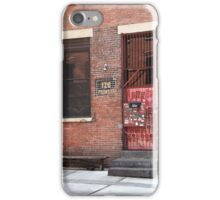 Brooklyn, New York, 126 Front Street iPhone Case/Skin