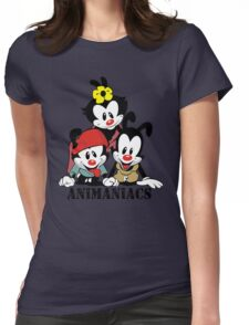 Animaniacs - cartoon Womens Fitted T-Shirt