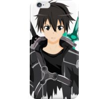 Sword Art Online Front Kirito iPhone Case/Skin