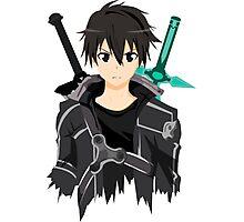 Sword Art Online Front Kirito Photographic Print