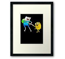 Adventure Time - Bro Fist Framed Print