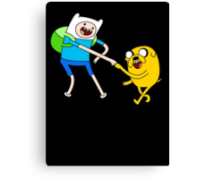 Adventure Time - Bro Fist Canvas Print