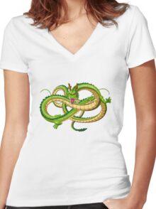Babyintan funny Women's Fitted V-Neck T-Shirt