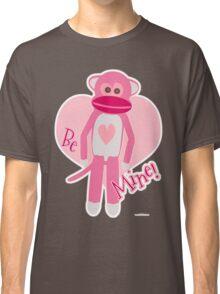 Valentine Sock Monkey Classic T-Shirt