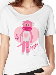 Valentine Sock Monkey Women's Relaxed Fit T-Shirt