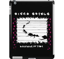 Oingo Boingo - Marching in Time iPad Case/Skin