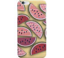 Cute Vintage Watermelons iPhone Case/Skin