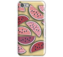 Cute Vintage Watermelons iPhone Case/Skin