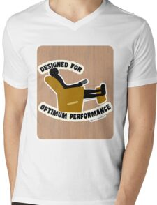 Optimum Performance Mens V-Neck T-Shirt