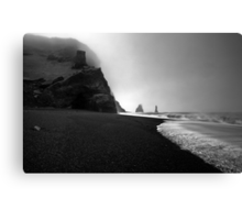 Reynisfjara Beach and the Trolls Canvas Print