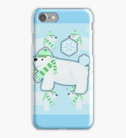 Sassy Polar Bears iPhone Case/Skin